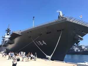 護衛艦かが/呉の自衛隊艦艇一般公開